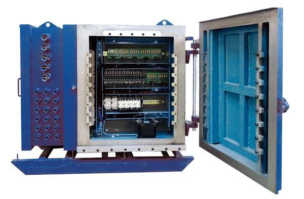 天津兆达提升机控制箱电路图